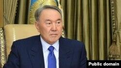 Қазақстан президенті Нұрсұлтан Назарбаев.