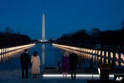 Președintele ales Joe Biden și vicepreședinta Kamala Harris, Washington, 19 ianuarie 2021.