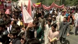 Afghans March Against Taliban, Call On Government To Secure Highways