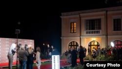 Teatrul de vară din Craiova în seara festivității