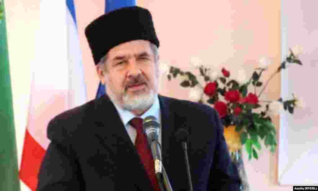 Рифат Чубаров, Кырымтатар мәҗлесе рәисе