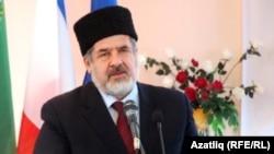 Председатель меджлиса крымско-татарского народа Рефат Чубаров.
