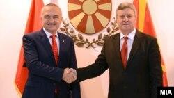 Средба на претседателите на Македонија и Албанија, Ѓорге Иванов и Илир Мета