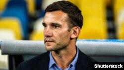 Головний тренер збірної України з футболу Андрій Шевченко