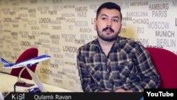 Turizm üzrə mütəxəssis Qulamlı Rəvan. (youtube screenshot)