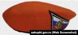 Такие береты заказали к 9 мая в крымском главке МЧС России
