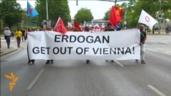 Thousands March In Vienna To Protest Erdogan Visit
