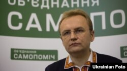 Лідер партії «Об'єднання «Самопоміч», мер Львова Андрій Садовий