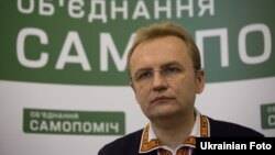 Лідер політичної партії «Самопоміч» Андрій Садовий