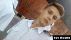 18-річний полонений український моряк Андрій Ейдер, якого утримує Росія після нападу на українські кораблі