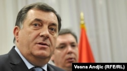 Milorad Dodik, president of the Bosnian entity Republika Srpska (file photo)