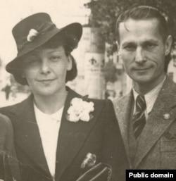 Олена Теліга з чоловіком Михайлом