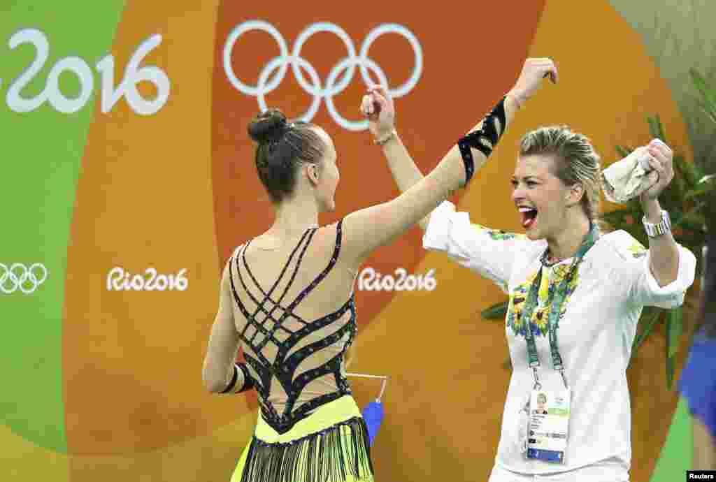 Анна Ризатдинова завоевала «бронзу» в личном многоборье в художественной гимнастике