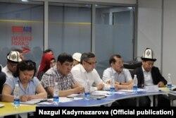 Обсуждение законопроекта. Бишкек, 27 июня 2018 г.
