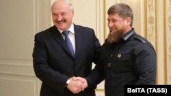 Кадыров приезжал в Минск в сентябре 2017 года