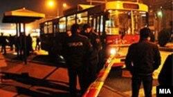 Архивска готографија: Во изминатите десетина денови, повеќе од тепачките се случија во автобусите на ЈСП.