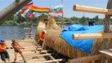 На камышовой лодке через Черное море: путешествие немецкого археолога (видео)