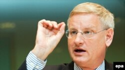 Freshly returned from a visit to Armenia, Azerbaijan, and Georgia, Swedish Foreign Minister Carl Bildt will lead the meeting.