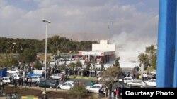 تصویری از اعتراضهای اخیر در شیراز
