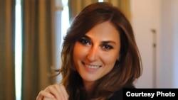 Gürcüstan Milli Kitab Mərkəzinin rəhbəri Medea Metreveli.