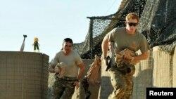 Britanski princ Harry u Afganistanu u kampu Bastion, novembar 2012.