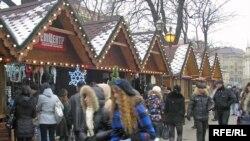 Львів, різдвяний ярмарок