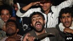 Антивладини протести во Јемен по потпишувањето на договорот меѓу Салех и САД и Саудиска Арабија
