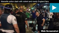 Engleski navijači u Francuskoj