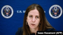File photo - Sigal Mandelker, U.S. Treasury Under Secretary for Terrorism and Financial Intelligence.
