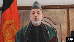 Hamid Karzai was sworn in for a fresh term as Afghan president on November 19.