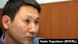 Независимый социолог Нурболат Айекешев. Алматы, 10 января 2012 года.