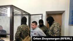 Аманжол Жансегиров сотко алып келинди. 22-октябрь, 2019-жыл.