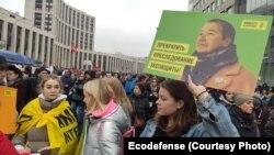 """Сопредседатель калининградской общественной организации """"Экозащита!"""" вынуждена эмигрировать из-за пяти уголовных дел"""