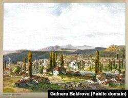 Карло Боссоли. Карасубазар. Середина 19 века