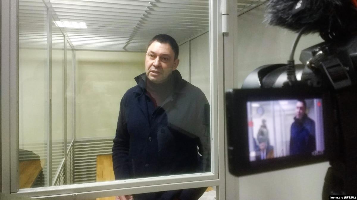 Суд в Херсоне оставил под арестом главу «РИА Новости Украина» Вышинского