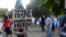 """Митинг в парке """"Торфянка"""" в Москве 9 июля 2015 года"""