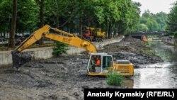 Зачистка Салгира, Симферополь, июнь 2019 года