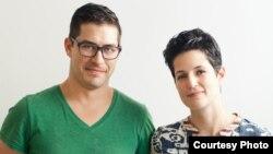 Боні з мужам і бізнэс-партнэрам Ізраэлем, фота Leela Cyd