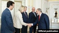 Делегация Совета Европы встречается с премьер-министром Армении Николом Пашиняном, Ереван, 31 мая 2019 г.