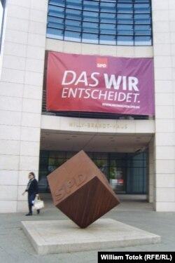 Sediul SPD (Willy Brandt Haus), la Berlin