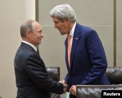 Переговоры Владимира Путина и госсекретаря США Джона Керри, Москва, 6 сентября 2016 года