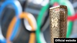 موقد الشعلة الأولمبية في ملعب لندن