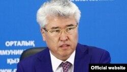 Министр культуры и спорта Арыстанбек Мухамедиулы.