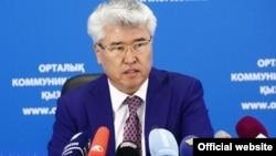 Казакстандын Маданият жана спорт министри Арыстанбек Мухамедиулы.