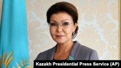 Дарига Назарбаева, спикер сената парламента Казахстана, старшая дочь первого президента Нурсултана Назарбаева.