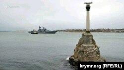 Корабель прибув до Севастополя 10 січня