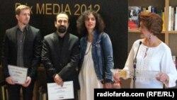 فرهادی جایزه «ای یو مدیا» را دریافت کرد