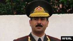 Daxili Qoşunların komandanı, general – leytenant Zakir Həsənov