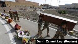 Ukop žrtava na Malti, 23. april 2015.