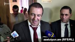 Лидер партии «Процветающая Армения» Гагик Царукян, Ереван, 8 апреля 2019 г.